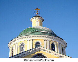 Church - Russia Moscow Church of the Assumption in Kosino