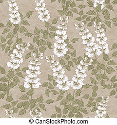 Floral vector seamless pattern - Spring floral vector...