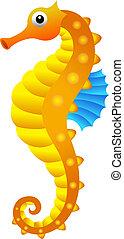 Sea horse - Illustration of sea horse.