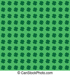 Clover Seamless Background