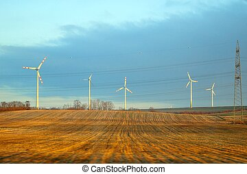 Alternative energy wind turbines