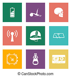 Color icons for Web Design set 3 - Color icons for Web...