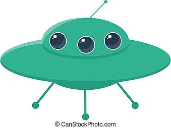 UFO rocket icons