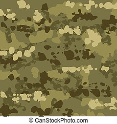 Camouflage Background - Camouflage background, vector...