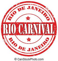 Rio Carnival-stamp