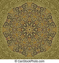 Beautiful Mandala Background - Vector Mandala Background...