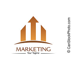 Marketing logo template