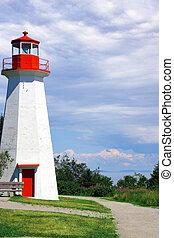 Lighthouse landscape vertical