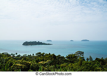 View point on Koh Chang