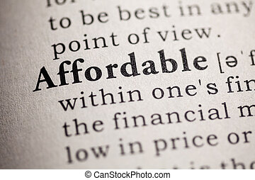affordable - Fake Dictionary, definition of the word...