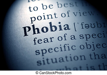phobia - Fake Dictionary, Dictionary definition of the word...
