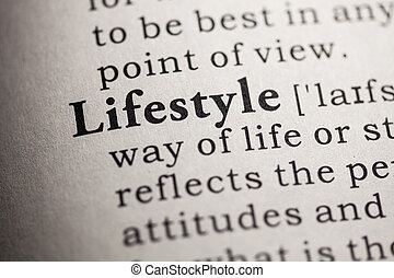 lifestyle - Fake Dictionary, Dictionary definition of the...
