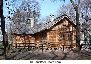 Cabin Of Peter I. Moscow