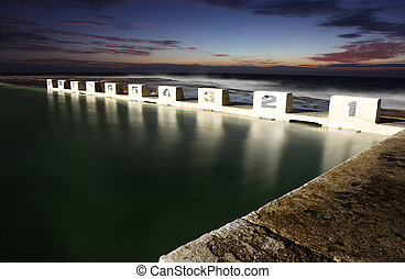 Merewether Ocean Baths - Newcastle Australia - Merewether...