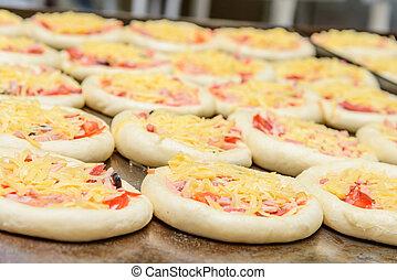 mini,  pizza