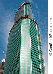 Skyscrapers business center Moscow City, Russia