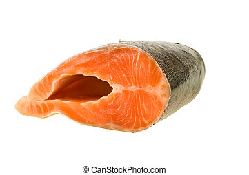 Piece of trout - The big piece of red trout for stake