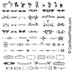 Vintage elements for your design