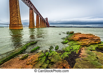 Bridge Firth of Forth in autumn
