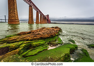 Bridge Firth of Forth and bay