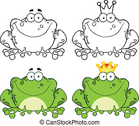 Happy Frog Sitting Set Collection