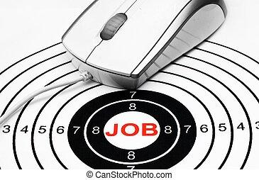 Web job target