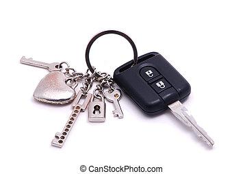 key with alarm - car keys with alarm and keyfob