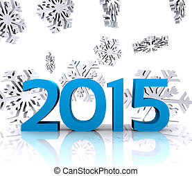 New year - Here comes the new year  2015
