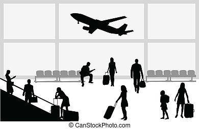 airport- illustration