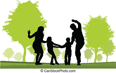 Family - parents and children