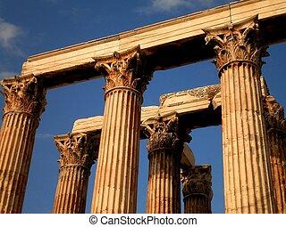 ruínas, Atenas