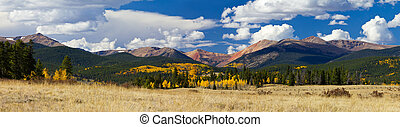 Colorado Rocky Mountains in Fall