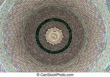 Ceiling Pattern Of The Dome Of The Chain - The geometric...