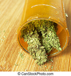 indústria, recreacional, Droga,  Marijuana,  América, médico