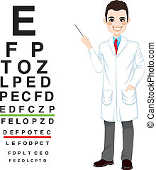 Professional Male Optician - Confident professional male...