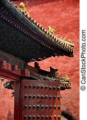 detail - forbidden city
