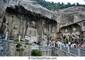 Luoyang Rock Carvings - Luoyang, China