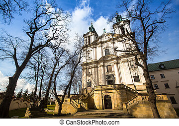 Church of St Stanislaus Bishop in Krakow, Poland