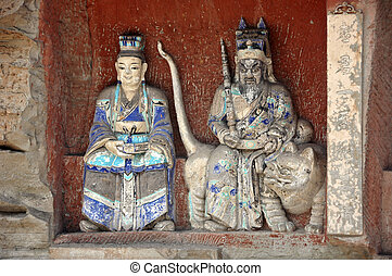 Dazu Rock Carvings - The Dazu Rock Carvings in Dazu County...