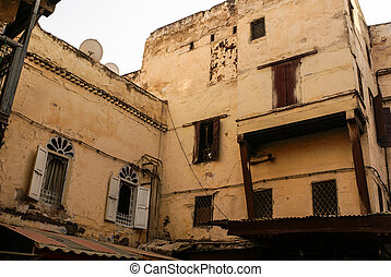 Fes (Fez) is consist of thousants small streets like this...