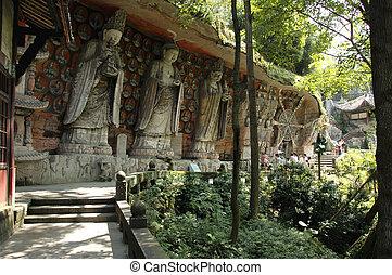 Dazu Rock Carvings - The Dazu Rock Carvings in Dazu County...