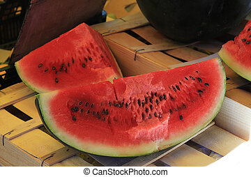 Watermelon - Big part of a juicy watermelon