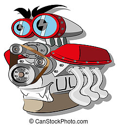 Engine - Vector Engine illustration clip art no mash no...
