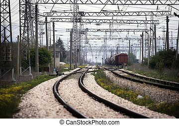 station,  rail