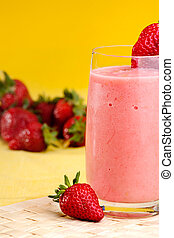 Strawberry Summer Drink - A fresh summer strawberry drink...