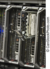 Server Hard Drive - Harddisk in a server This is a 2,5 SAS...