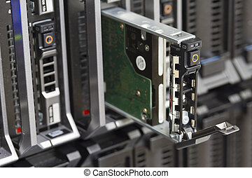 Hard Drive in Blade Server - Harddisk in a blade server....