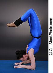 Scorpio - Woman doing yoga, Scorpio