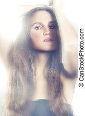 Beauty - Portrait of a fashion model