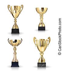 dourado, troféus